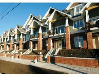 """Photo 1: 1567 GRANT Ave in Port Coquitlam: Glenwood PQ Townhouse for sale in """"THE GRANT"""" : MLS®# V613387"""