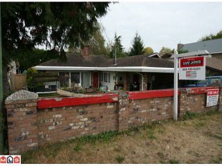 "Photo 1: 3068 MCBRIDE AV in Surrey: Crescent Bch Ocean Pk. House for sale in ""CRESCENT BEACH"" (South Surrey White Rock)  : MLS®# F1225339"