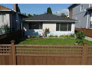 Photo 1: 4715 ALBERT Street in Burnaby North: Capitol Hill BN Home for sale ()  : MLS®# V853398