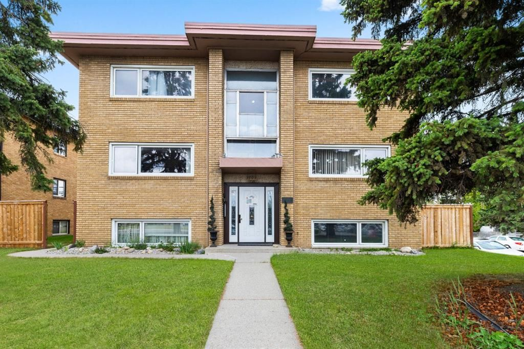 Main Photo: 4 1603 37 Street SW in Calgary: Rosscarrock Apartment for sale : MLS®# A1119639
