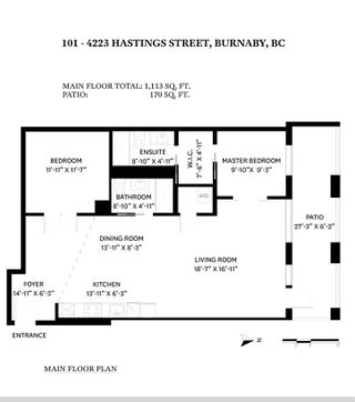 """Photo 24: 101 4223 HASTINGS Street in Burnaby: Vancouver Heights Condo for sale in """"the Carleton"""" (Burnaby North)  : MLS®# R2552970"""