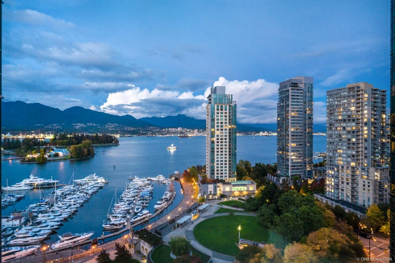 Main Photo: 1806 588 BROUGHTON Street in Vancouver: Coal Harbour Condo for sale (Vancouver West)  : MLS®# R2625007