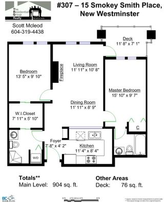 """Photo 14: 307 15 SMOKEY SMITH Place in New Westminster: GlenBrooke North Condo for sale in """"THE WESTERLY"""" : MLS®# R2007734"""