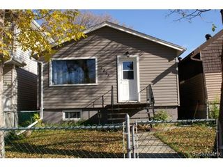 Photo 1: 1445 CONNAUGHT Street in Regina: Rosemont Single Family Dwelling for sale (Regina Area 02)  : MLS®# 514913