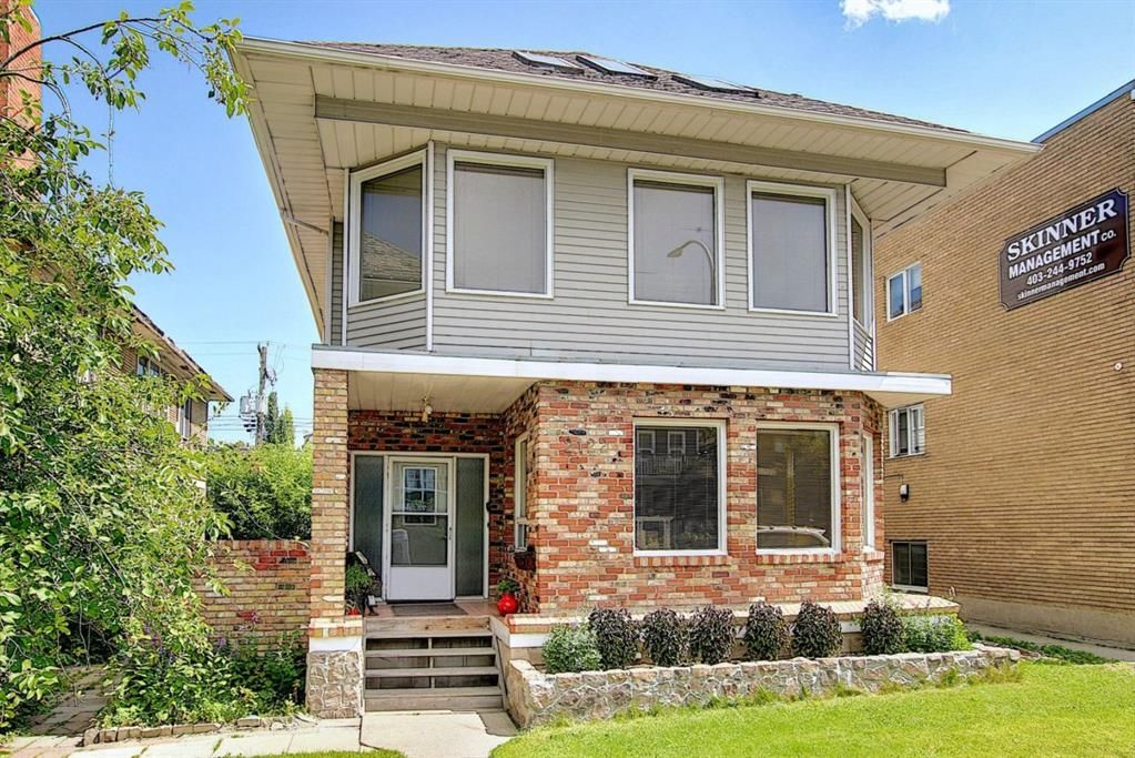 Main Photo: 1 2122 15 Street SW in Calgary: Bankview Semi Detached for sale : MLS®# A1117406