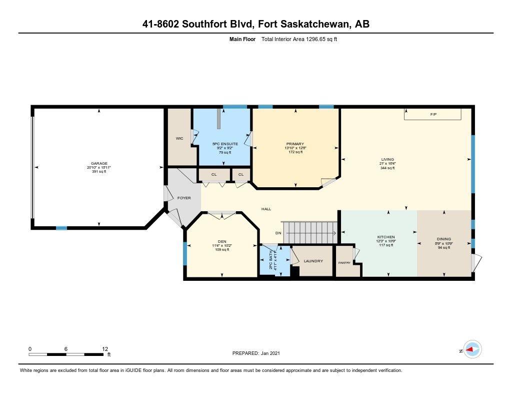 Photo 11: Photos: 41 8602 SOUTHFORT Boulevard: Fort Saskatchewan House Half Duplex for sale : MLS®# E4226387