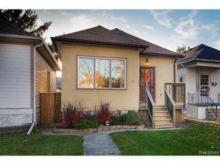 Main Photo: 57 Lloyd Street in Winnipeg: Norwood Flats Single Family Detached for sale : MLS®# 1503093