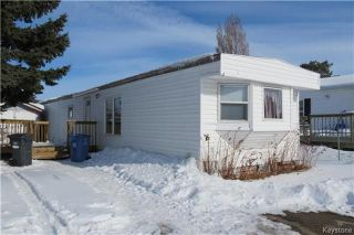 Photo 1: 16 Sonora Crescent in Winnipeg: South Glen Residential for sale (2F)  : MLS®# 1806047