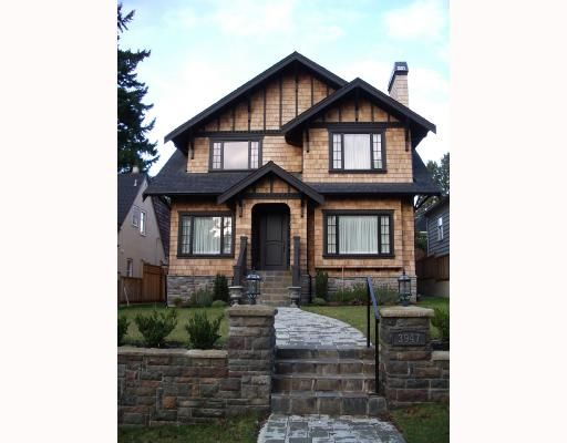 Main Photo: 3947 W KING EDWARD Avenue in Vancouver: Dunbar House for sale (Vancouver West)  : MLS®# V661578