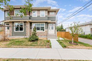 Photo 1: 10574 62 Avenue NW in Edmonton: Zone 15 House Half Duplex for sale : MLS®# E4256002