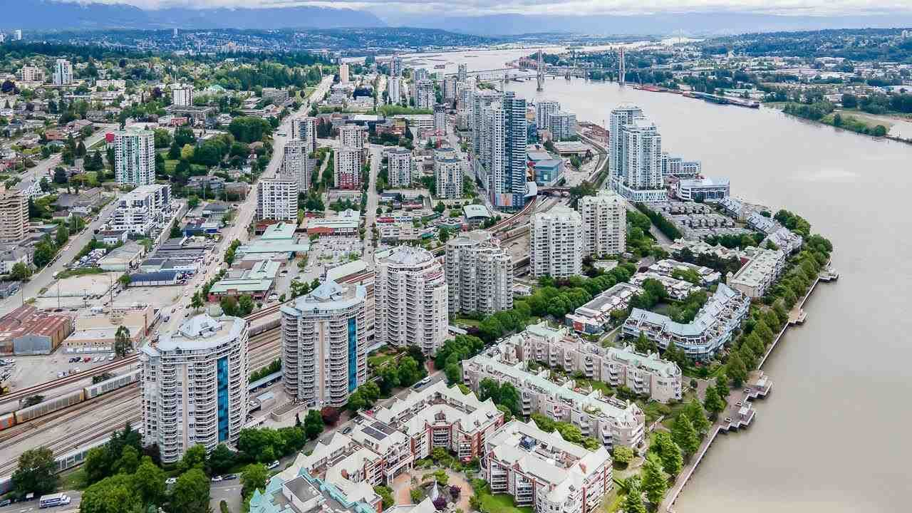 """Main Photo: 905 1185 QUAYSIDE Drive in New Westminster: Quay Condo for sale in """"Riveria"""" : MLS®# R2591209"""