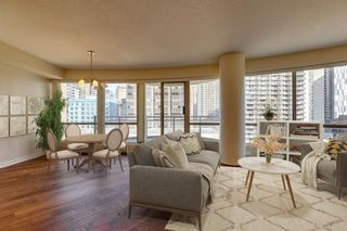 Photo 9: 802 1078 6 Avenue SW in Calgary: Downtown West End Apartment for sale : MLS®# A1038464