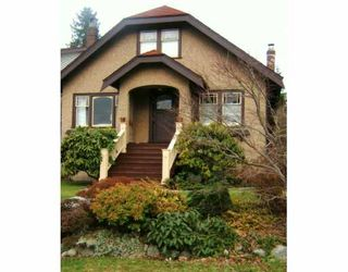 Main Photo: 3517 W 32ND Ave in Vancouver: Dunbar House for sale (Vancouver West)  : MLS®# V627816