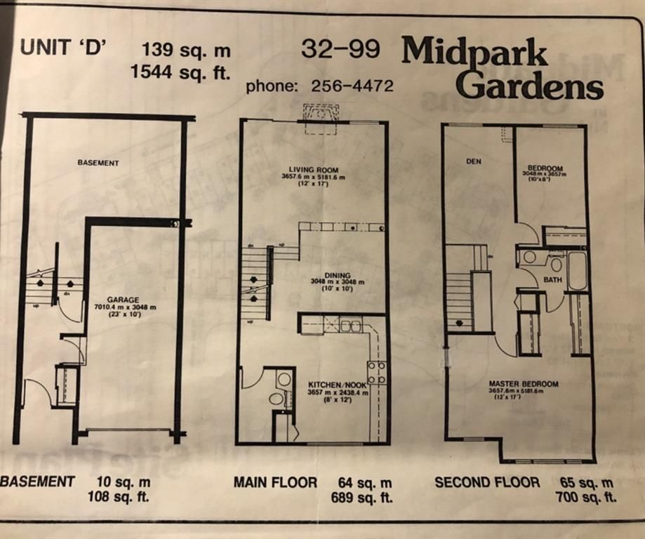 Photo 31: Photos: 32 99 Midpark Gardens SE in Calgary: Midnapore Row/Townhouse for sale : MLS®# A1092782