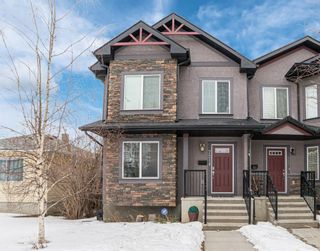 Photo 1: 721 23 Avenue NW in Calgary: Mount Pleasant Semi Detached for sale : MLS®# A1072091