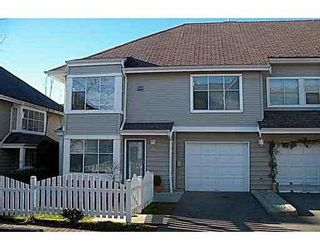 Photo 1: 33 12099 237TH Street in Maple_Ridge: East Central Townhouse for sale (Maple Ridge)  : MLS®# V680679