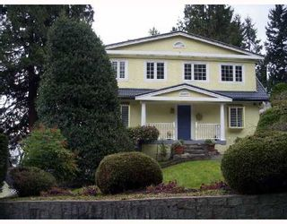 Photo 1: 3528 CREERY Avenue in West_Vancouver: West Bay House for sale (West Vancouver)  : MLS®# V699137