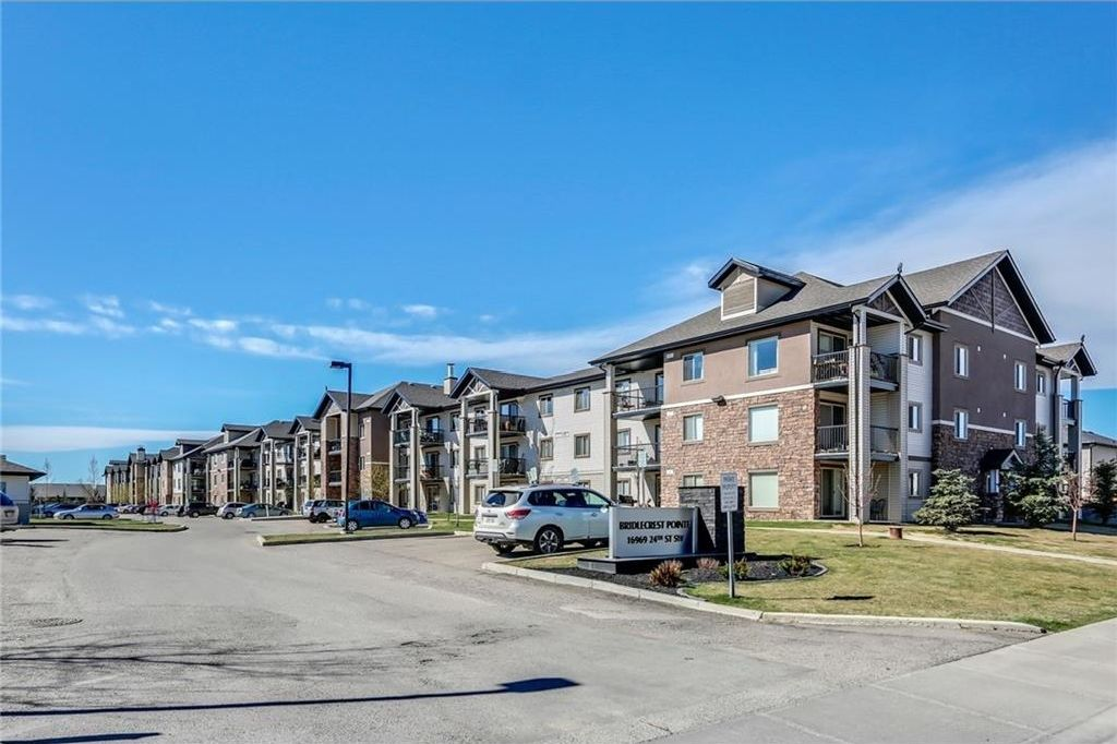 Main Photo: 1318 16969 24 Street SW in Calgary: Bridlewood Condo for sale : MLS®# C4119974