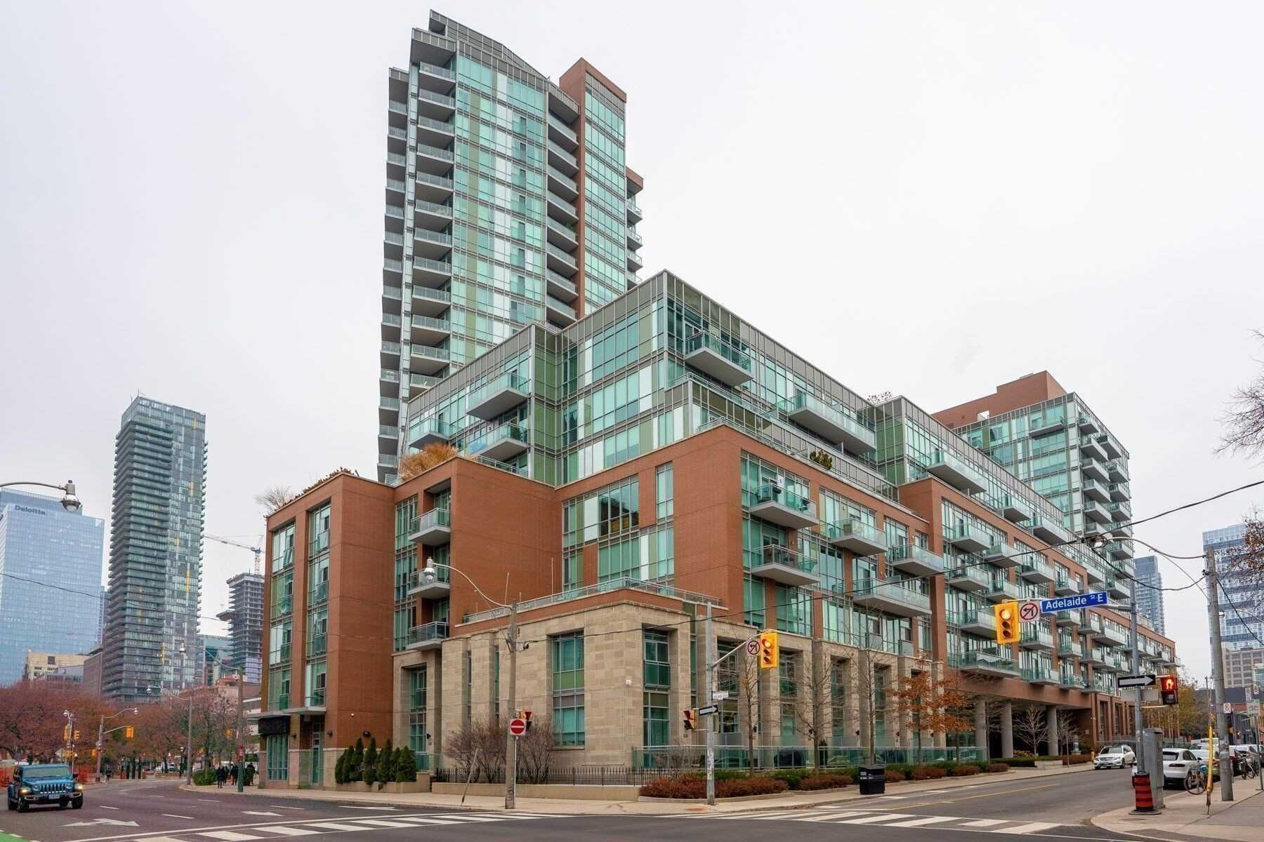 Main Photo: S711 112 George Street in Toronto: Moss Park Condo for lease (Toronto C08)  : MLS®# C5110489