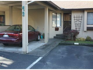 """Photo 1: 43 2962 NELSON Place in Abbotsford: Central Abbotsford Townhouse for sale in """"Willband Creek Park"""" : MLS®# F1228142"""