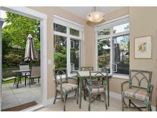 """Photo 6: 121 3188 W 41ST Avenue in Vancouver: Kerrisdale Townhouse for sale in """"THE LANESBOROUGH"""" (Vancouver West)  : MLS®# V1123090"""