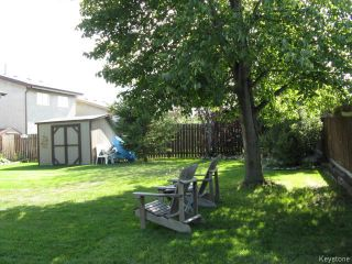 Photo 20: 76 Trowbridge Bay in WINNIPEG: St Vital Residential for sale (South East Winnipeg)  : MLS®# 1405516