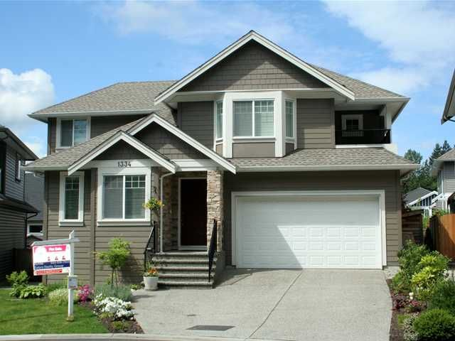 Main Photo: 1334 CANARY PL in Coquitlam: Burke Mountain House for sale : MLS®# V1003686