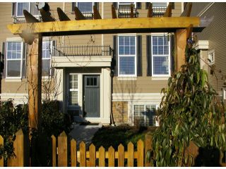 """Photo 2: 21139 80TH Avenue in Langley: Willoughby Heights Townhouse for sale in """"YORKVILLE"""" : MLS®# F1401445"""