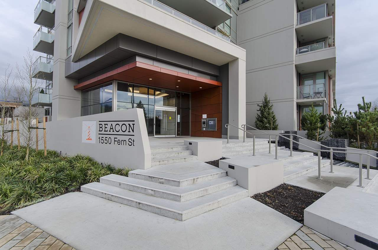 """Main Photo: 1704 1550 FERN Street in North Vancouver: Lynnmour Condo for sale in """"BEACON AT SEYLYNN VILLAGE"""" : MLS®# R2358202"""