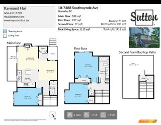 Photo 23: 10 7488 SOUTHWYNDE Avenue in Burnaby: South Slope Townhouse for sale (Burnaby South)  : MLS®# R2617010