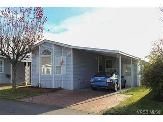 Photo 1: 4 7401 Central Saanich Rd in SAANICHTON: CS Saanichton Manufactured Home for sale (Central Saanich)  : MLS®# 657008