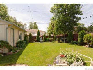 Photo 15: 145 Browning Boulevard in WINNIPEG: Westwood / Crestview Residential for sale (West Winnipeg)  : MLS®# 1515356