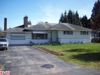 Photo 1: 2084 WILLOW ST in Abbotsford: House for sale : MLS®# F1108734