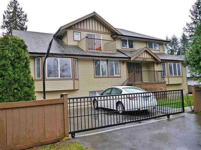 Main Photo: 875 GREENE Street in Coquitlam: Meadow Brook House for sale : MLS®# R2590884