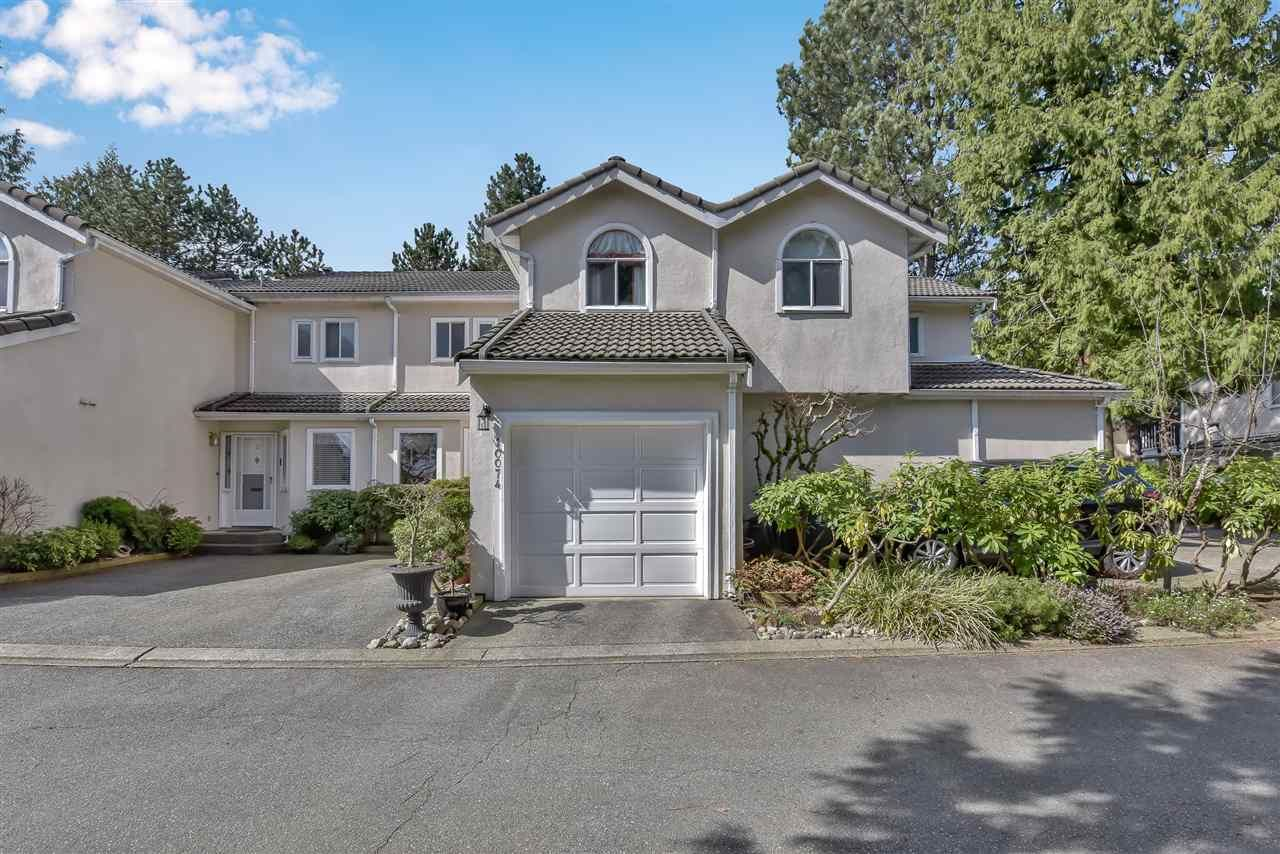 """Main Photo: 2 10074 154 Street in Surrey: Guildford Townhouse for sale in """"woodland grove"""" (North Surrey)  : MLS®# R2556855"""
