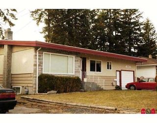 Photo 1: 2845 PRINCESS Street in Abbotsford: Abbotsford West House for sale : MLS®# F2919141
