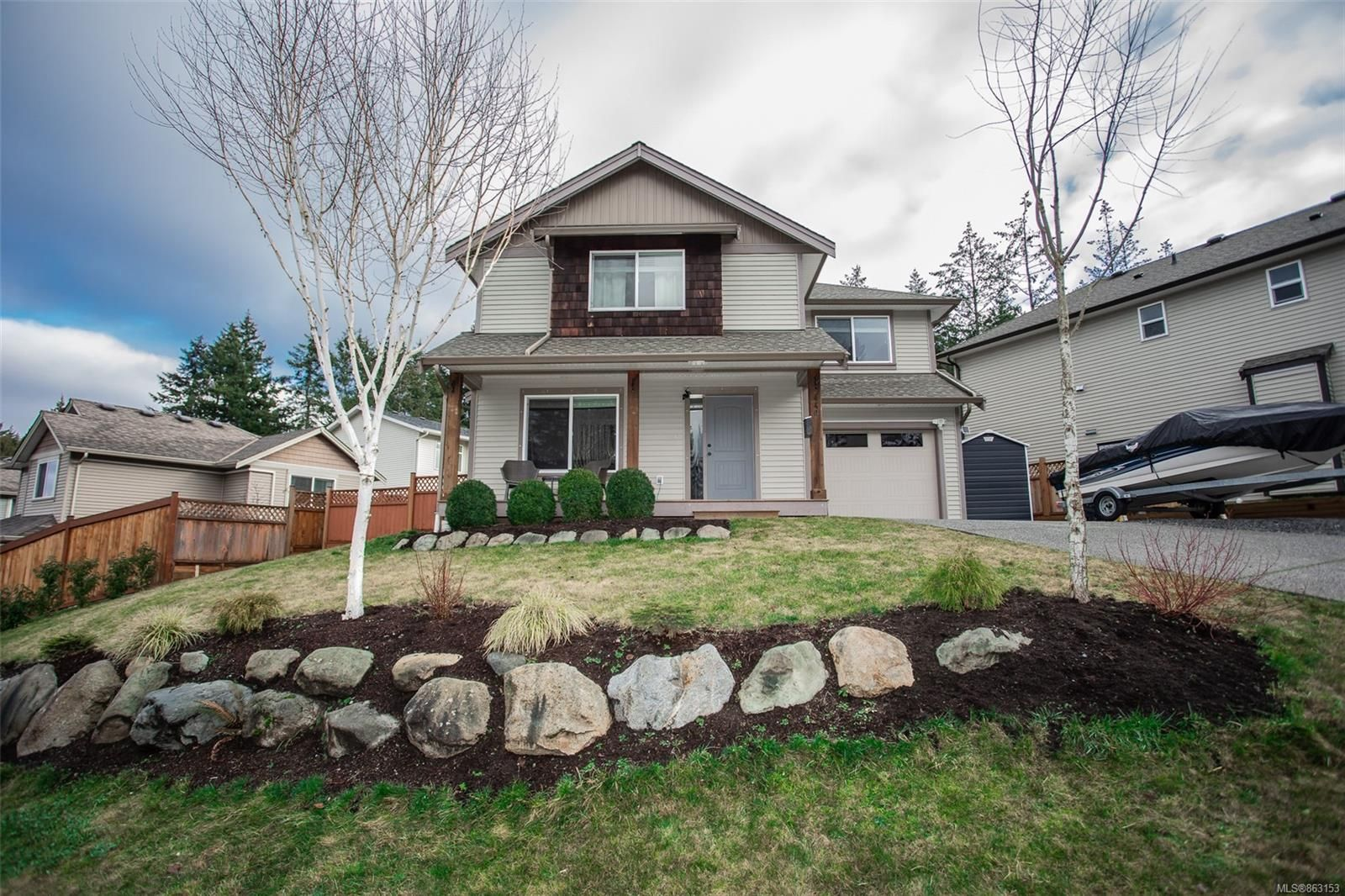 Main Photo: 5440 Jeevans Rd in : Na Pleasant Valley House for sale (Nanaimo)  : MLS®# 863153