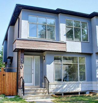 Main Photo: 630 17 Avenue NW in Calgary: Mount Pleasant Semi Detached for sale : MLS®# A1138709
