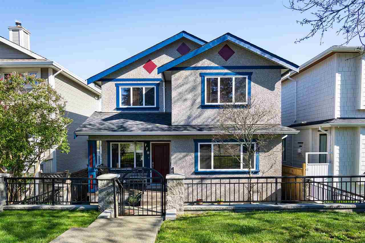 Main Photo: 779 DURWARD Avenue in Vancouver: Fraser VE House for sale (Vancouver East)  : MLS®# R2550982