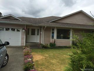 Photo 1: A 1603 BURGESS ROAD in COURTENAY: CV Courtenay City Half Duplex for sale (Comox Valley)  : MLS®# 704314