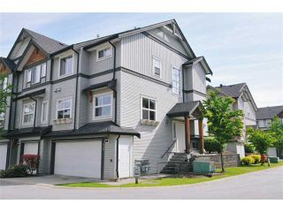 """Photo 1: # 55 1055 RIVERWOOD GT in Port Coquitlam: Riverwood Condo for sale in """"MOUNTAIN VIEW ESTATES"""" : MLS®# V888731"""