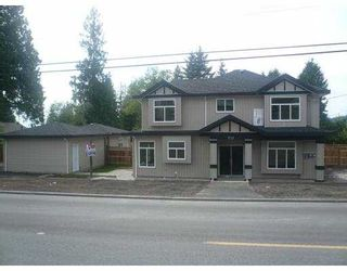 Photo 2: 732 ROBINSON Street in Coquitlam: Coquitlam West 1/2 Duplex for sale : MLS®# V826752