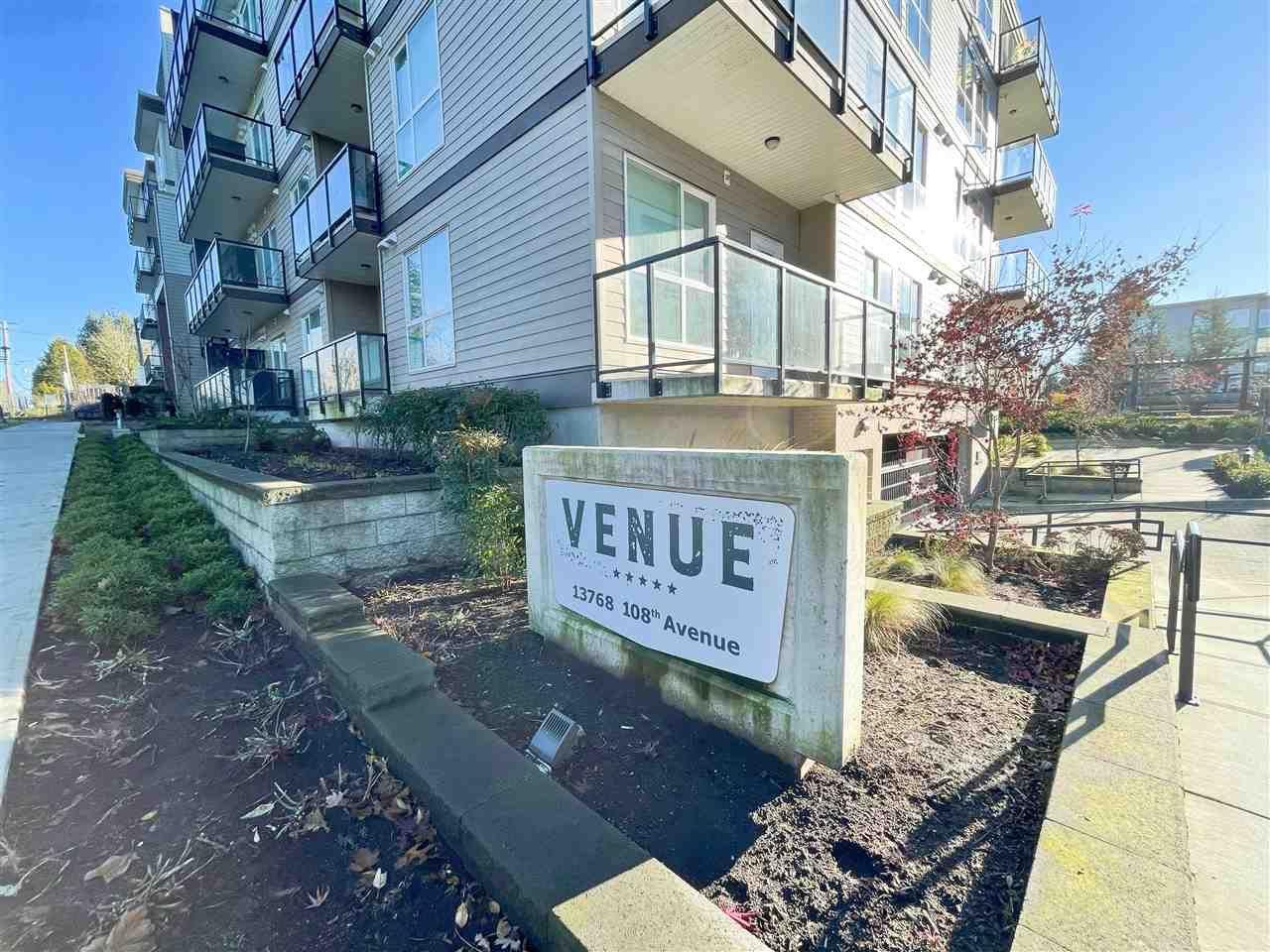 """Main Photo: 430 13768 108 Avenue in Surrey: Whalley Condo for sale in """"VENUE"""" (North Surrey)  : MLS®# R2521627"""