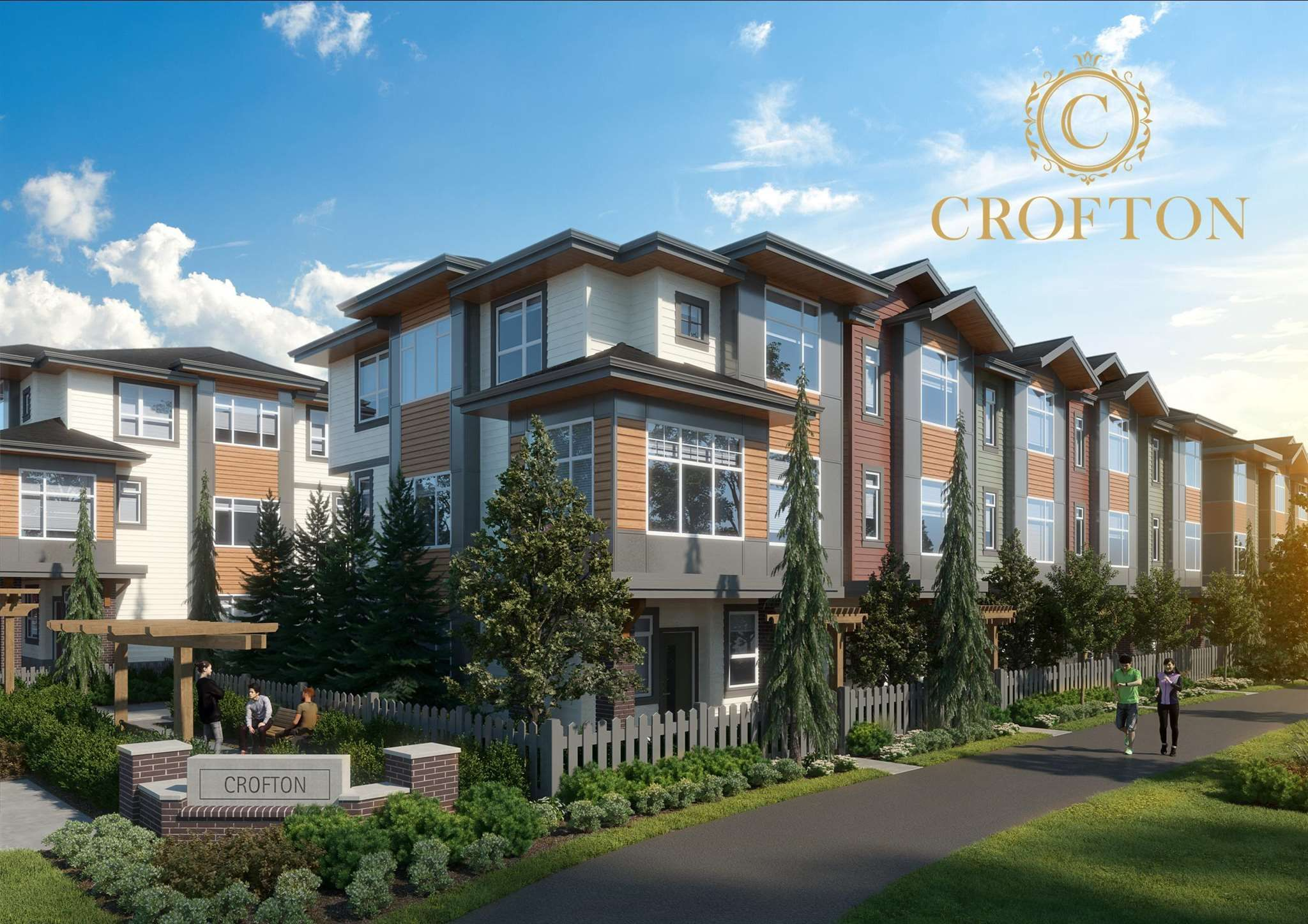 """Main Photo: 38 20763 76 Avenue in Langley: Willoughby Heights Townhouse for sale in """"CROFTON"""" : MLS®# R2595938"""