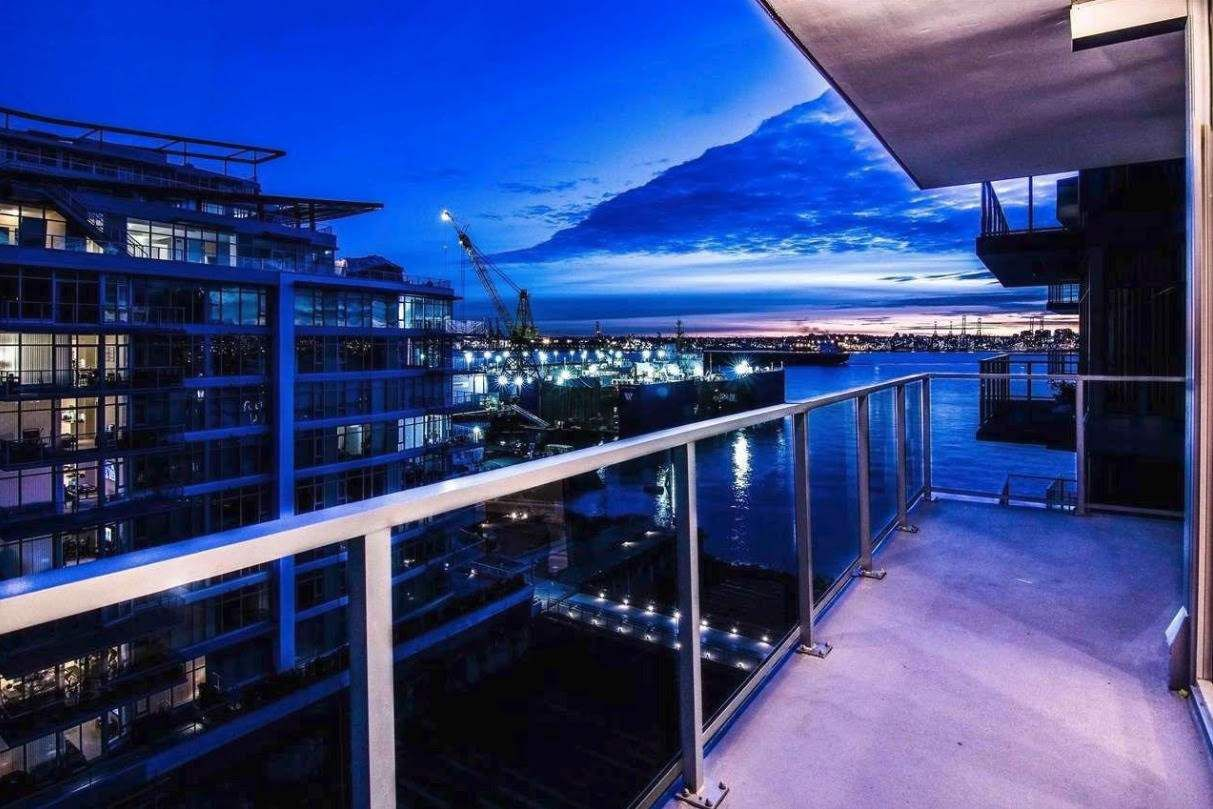 """Main Photo: 803 175 VICTORY SHIP Way in North Vancouver: Lower Lonsdale Condo for sale in """"Cascade West"""" : MLS®# R2565642"""