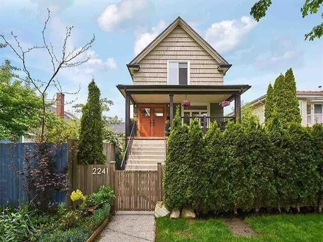 FEATURED LISTING: 2241 PENDER Street East Vancouver