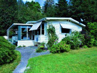 "Photo 1: 1 50801 O'BYRNE Road in Sardis: Chilliwack River Valley Manufactured Home for sale in ""CHWK RVR RV &CMP"" : MLS®# R2398134"
