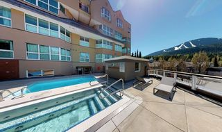 """Photo 3: 310 4557 BLACKCOMB Way in Whistler: Benchlands Condo for sale in """"Le Chamois"""" : MLS®# R2590719"""