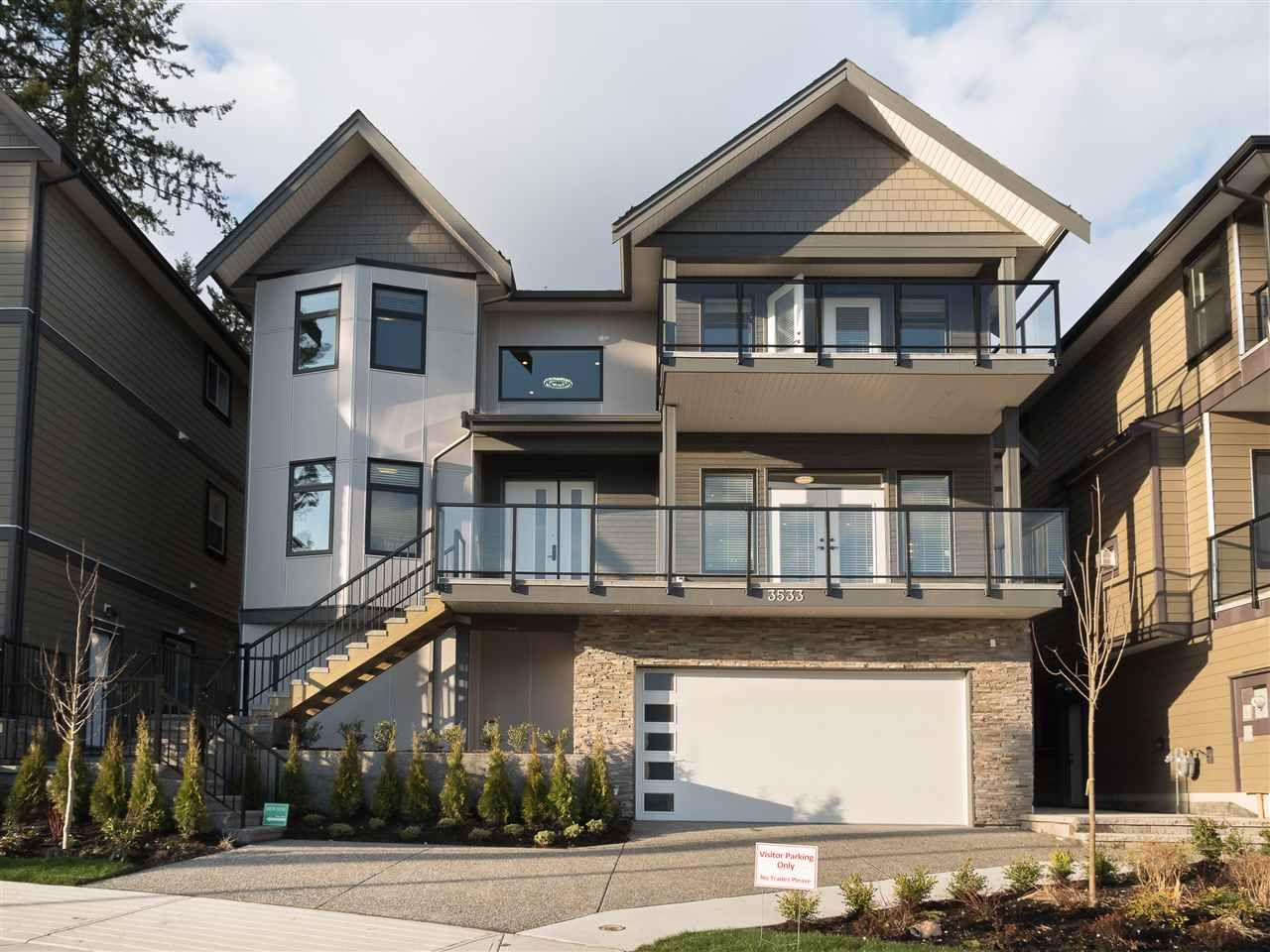 """Main Photo: 3537 ARCHWORTH Avenue in Coquitlam: Burke Mountain House for sale in """"PARTINGTON"""" : MLS®# R2222585"""