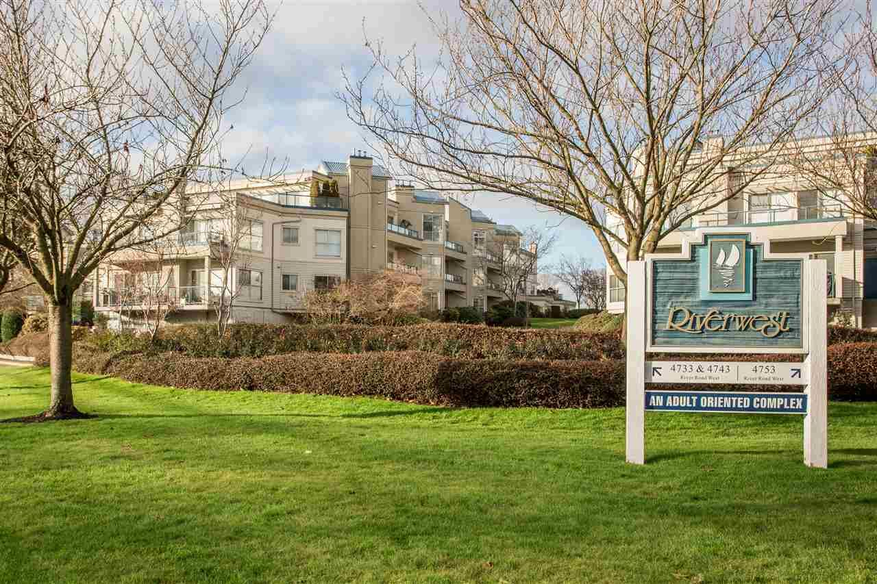 """Main Photo: 108 4743 W RIVER Road in Delta: Ladner Elementary Condo for sale in """"RIVER WEST"""" (Ladner)  : MLS®# R2479410"""
